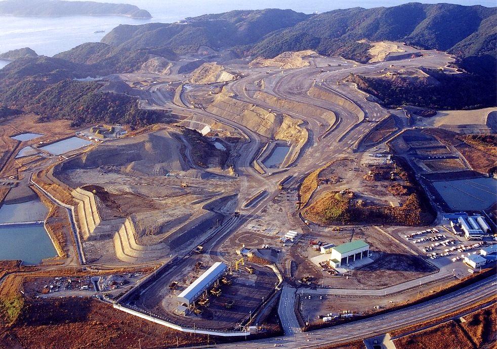 関西国際空港二期・土砂採取事業