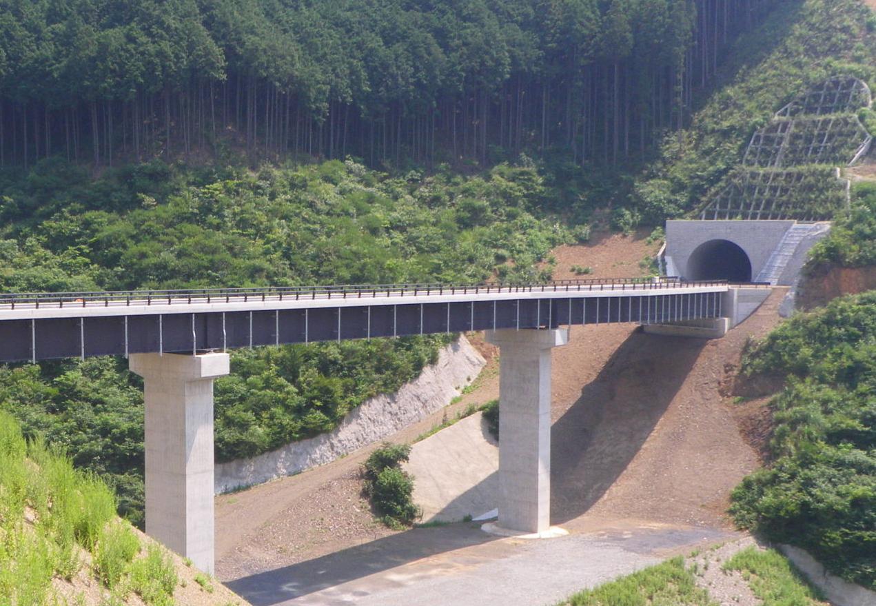 思川開発付替県道4号トンネル