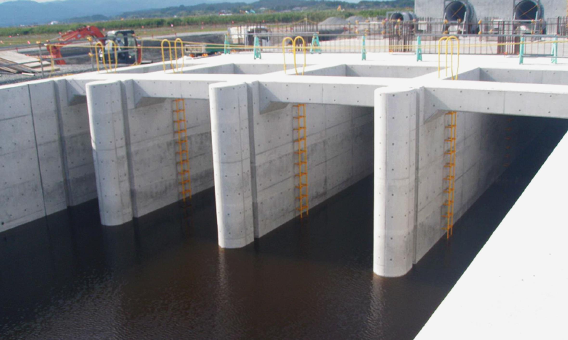南相馬排水機場