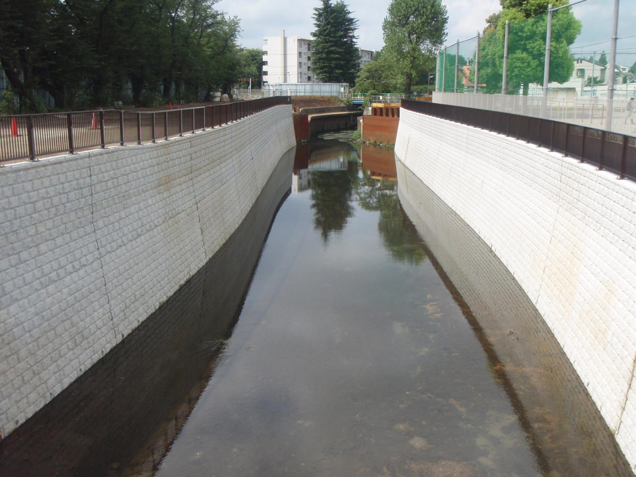 石神井川整備工事