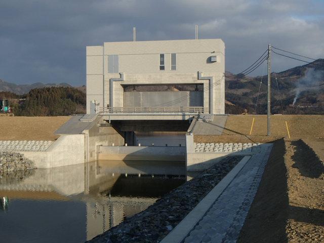 北上川釜谷水門