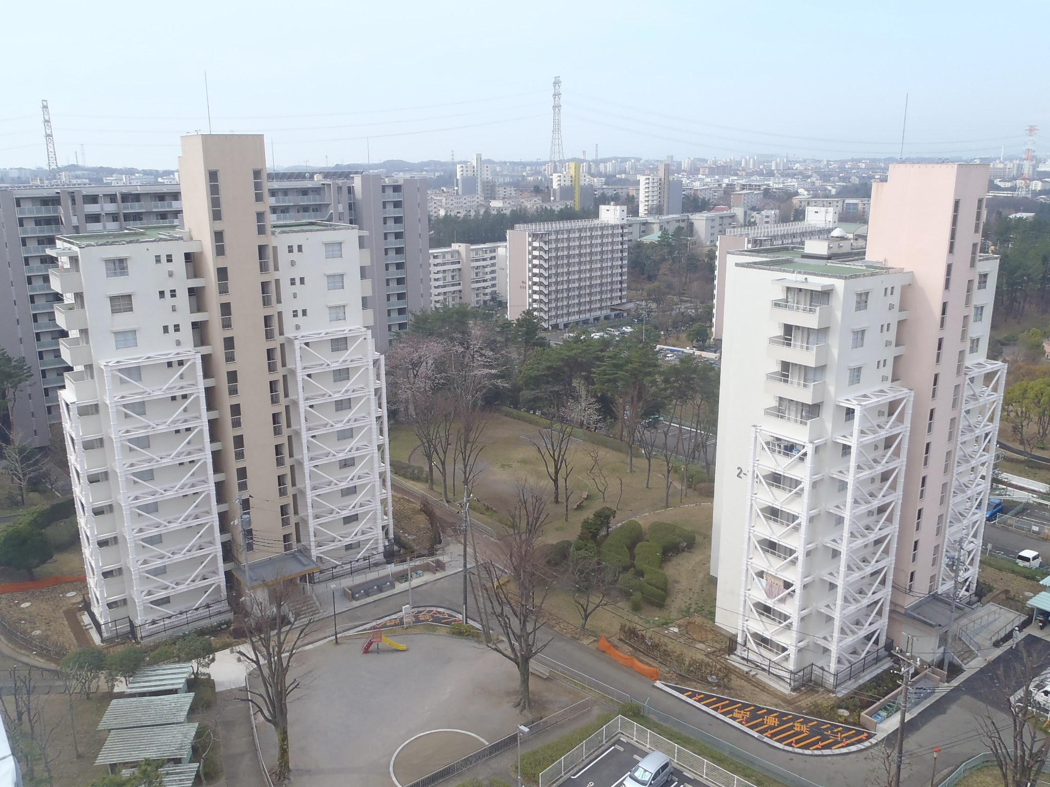 多摩ニュータウン諏訪永山団地耐震改修