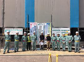 技術系女性社員による作業所パトロール(2017年6月)