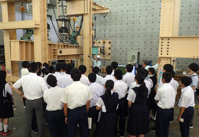 高校生向け技術研究所見学会(2018年8月)