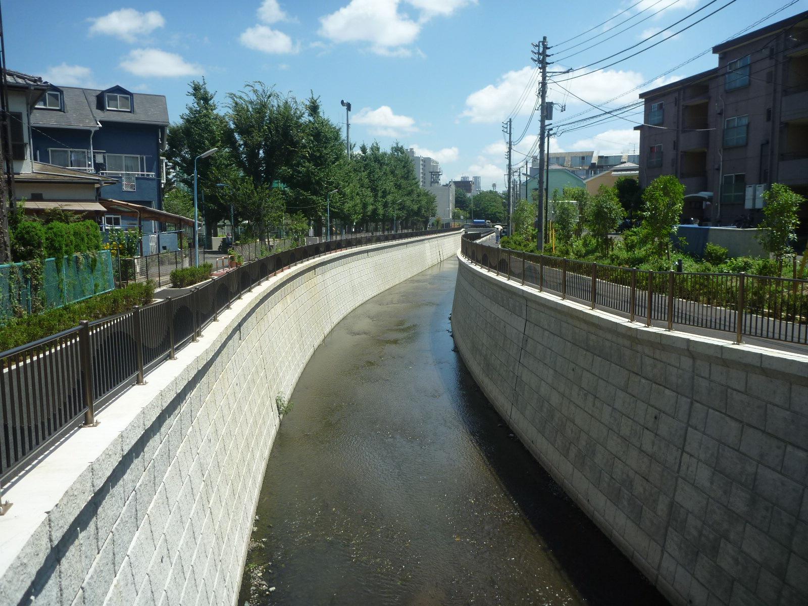 神田川整備工事